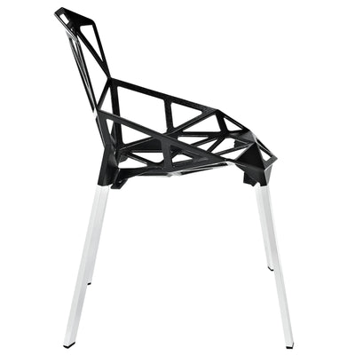 Caenis Side Chair Black