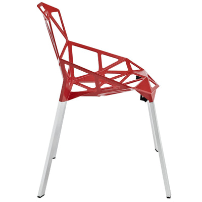 Caenis Side Chair Red