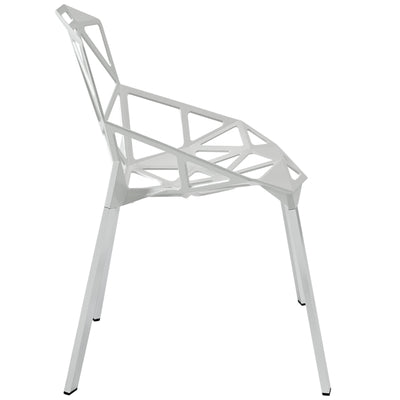Caenis Side Chair White