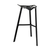 Lift Stacking Bar Stool Black