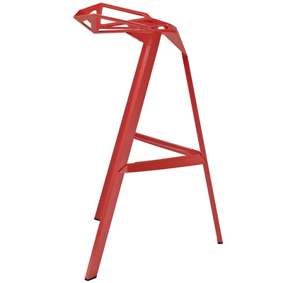 Lift Stacking Bar Stool Red