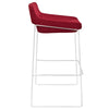 Gabriel Bar Stool Red