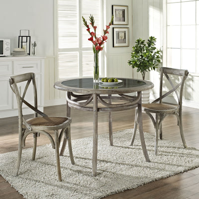 Identity Dining Table Gray