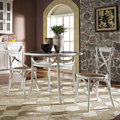 Identity Dining Table White