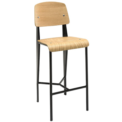 Calypso Counter Stool Natural Black