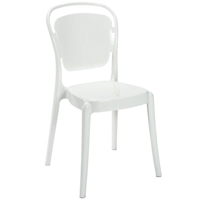 Ead Side Chair White