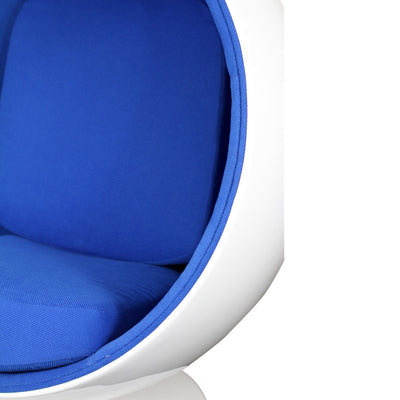 Keane Lounge Chair Blue