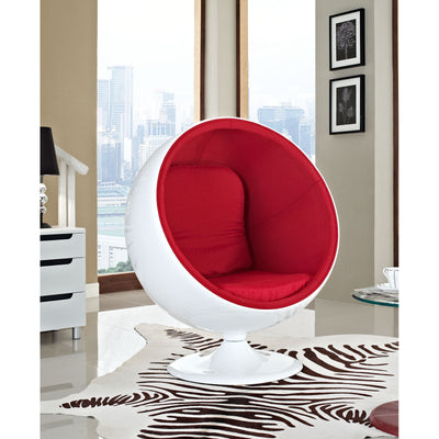 Keane Lounge Chair Red