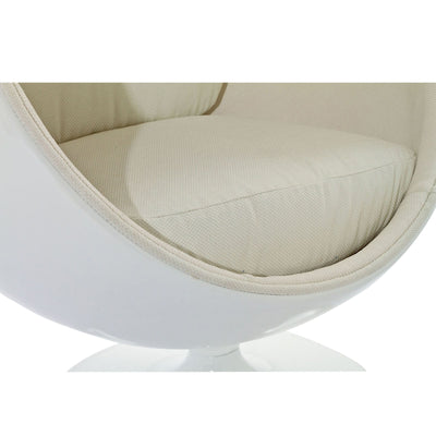 Keane Lounge Chair White