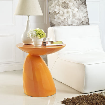 Flux Side Table Orange