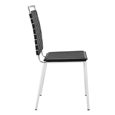Fusion Dining Side Chair Black