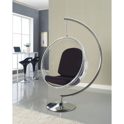 Rata Lounge Chair Black