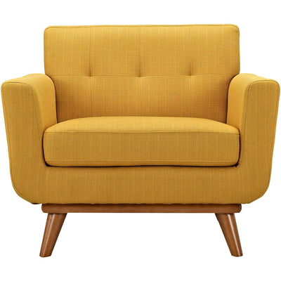 Emory Upholstered Armchair Citrus