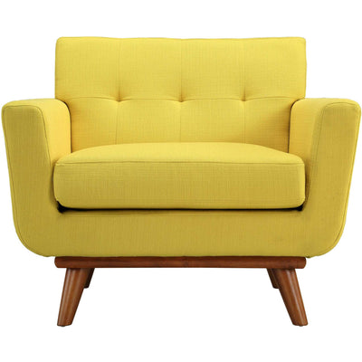 Emory Upholstered Armchair Sunny