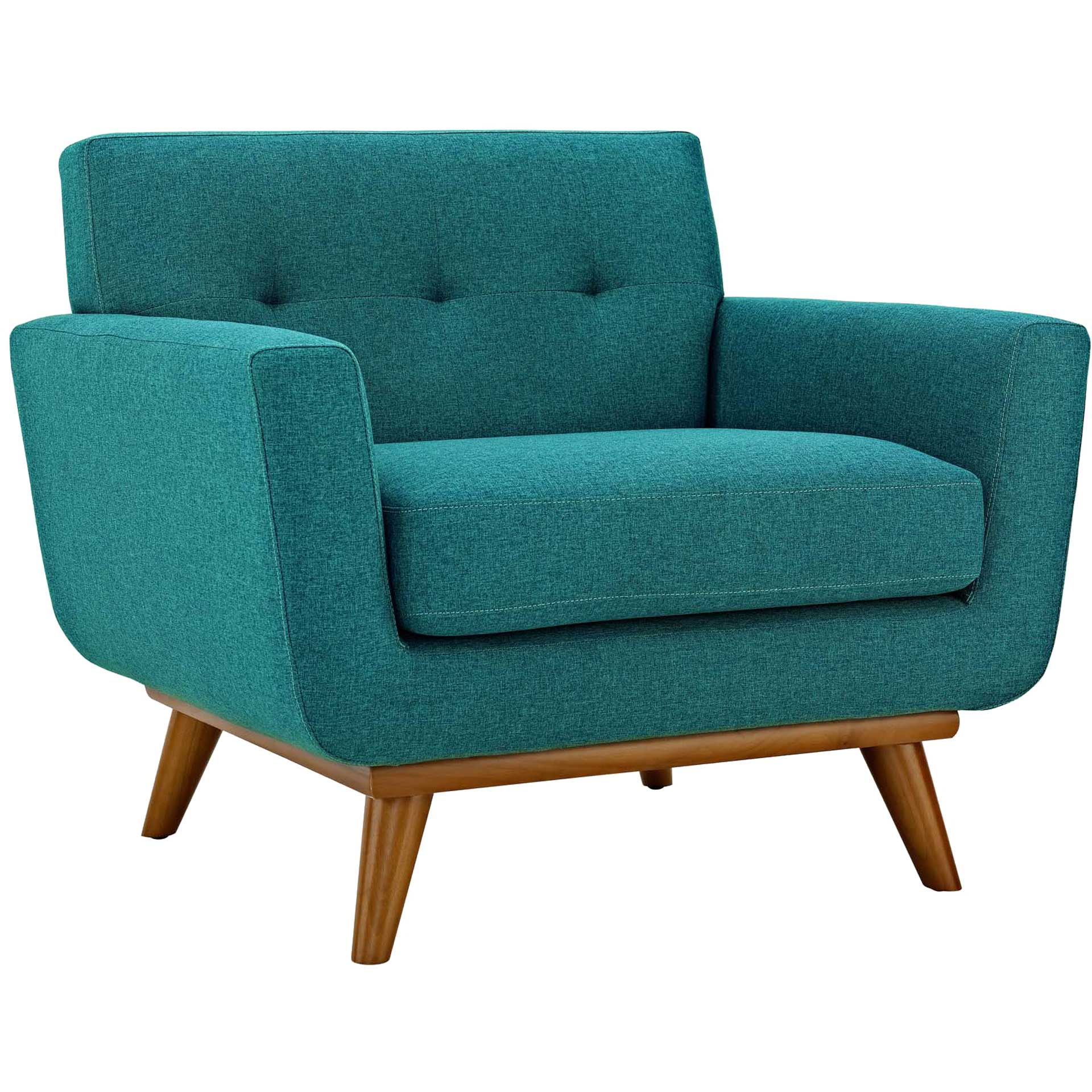 Emory Upholstered Armchair Teal