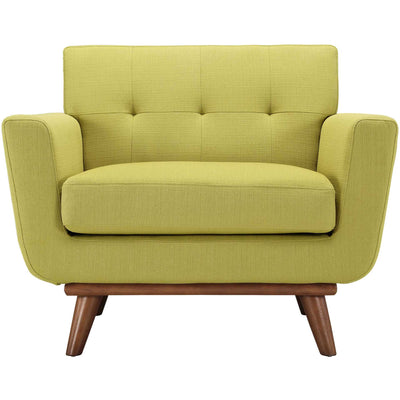 Emory Upholstered Armchair Wheatgrass