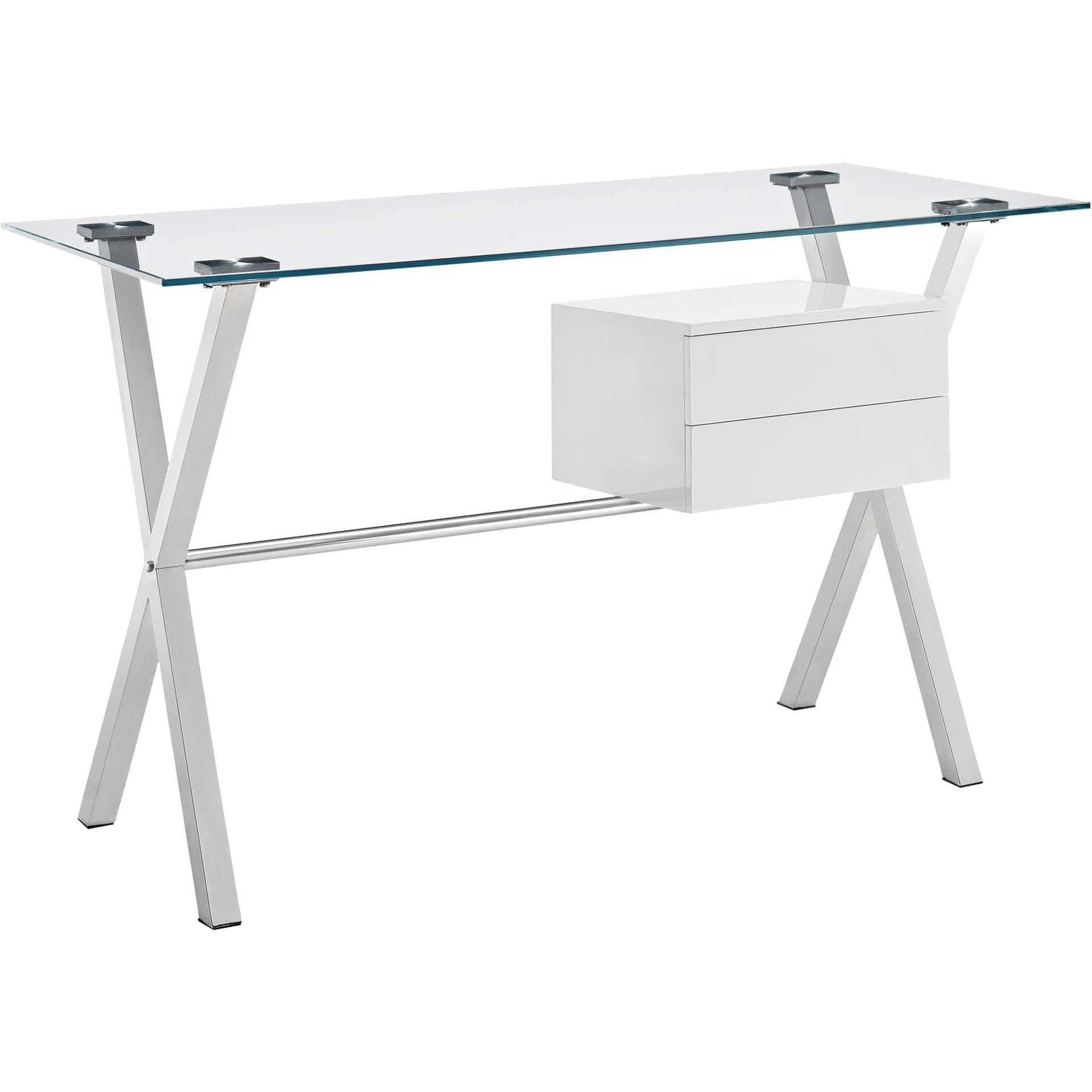 Suspension Office Desk White