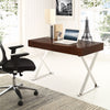 Section Office Desk Walnut