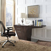 Ward Office Desk Walnut