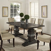 Clement Wood Dining Table Black