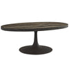Drift Wood Top Coffee Table Brown