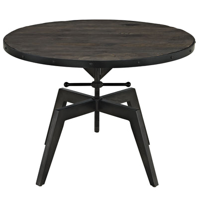 Grand Wood Top Coffee Table Black