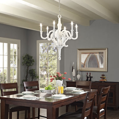 Anthem Chandelier White