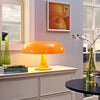 Plaza Acrylic Table Lamp Orange