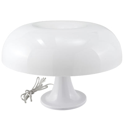 Plaza Acrylic Table Lamp White