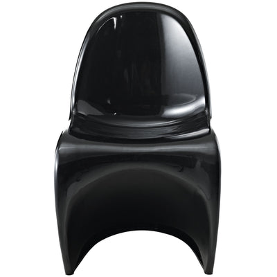 Slide Side Chair Black