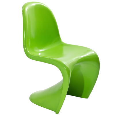 Slide Side Chair Green
