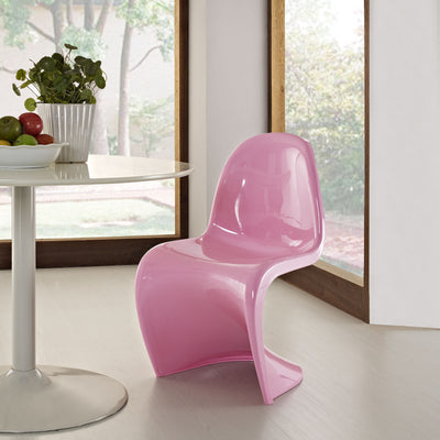 Slide Side Chair Pink