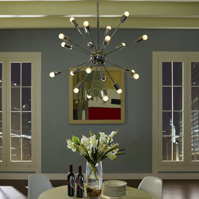Valley Pendant Light Silver