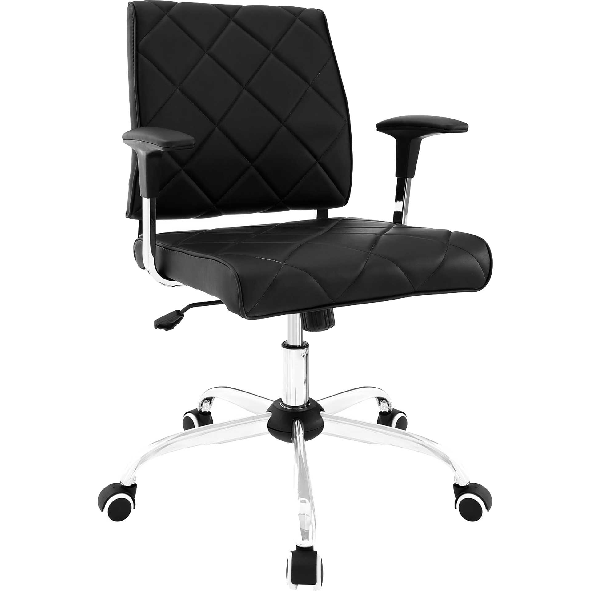 Lochsa Vinyl Office Chair Black
