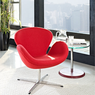 Wind Lounge Chair Red