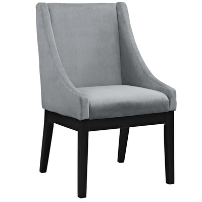 Tilde Dining Wood Side Chair Gray