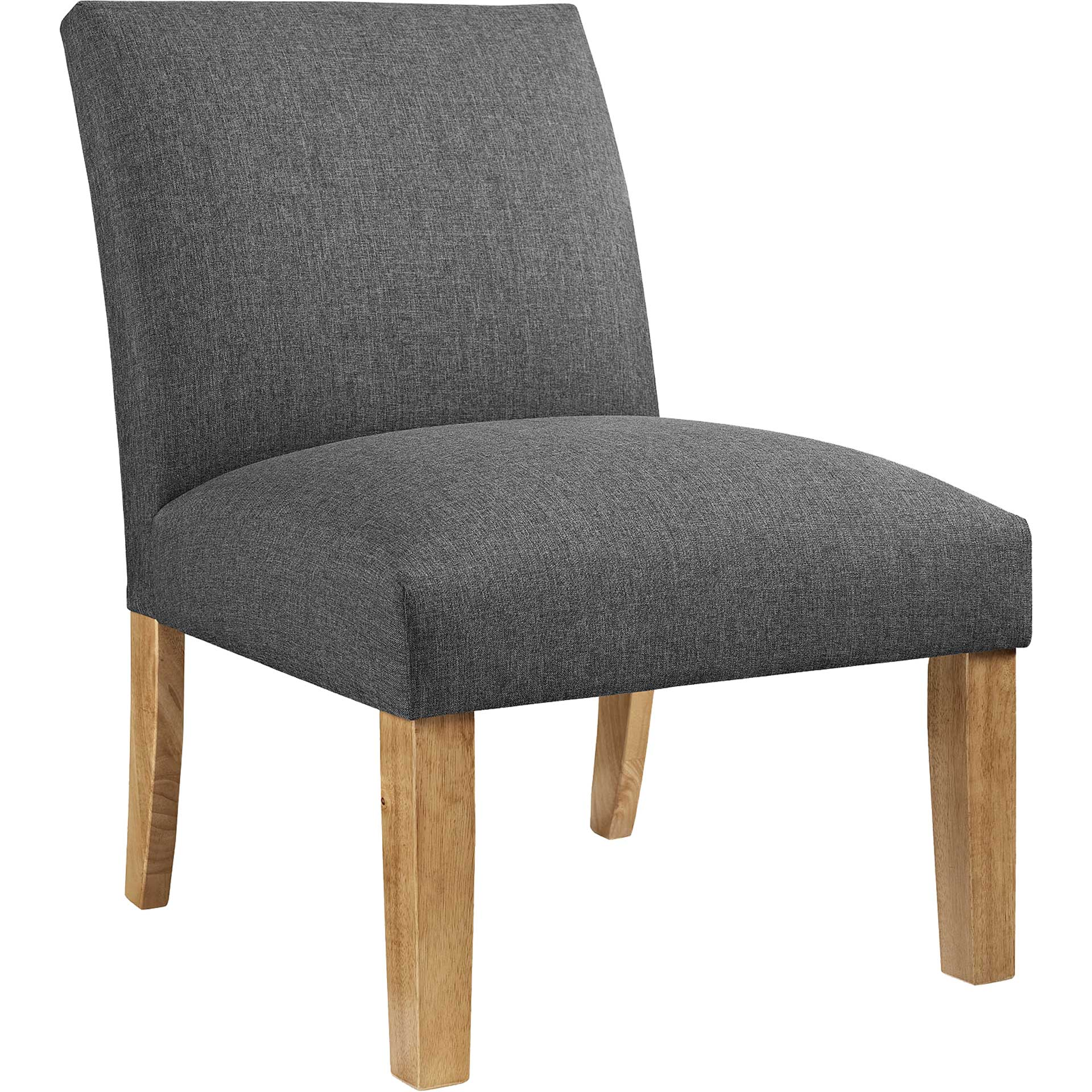 Addyson Upholstered Fabric Armchair Gray