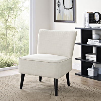 Risa Fabric Side Chair Beige