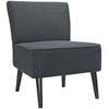 Risa Fabric Side Chair Gray