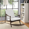 Pacific Armchair Walnut White