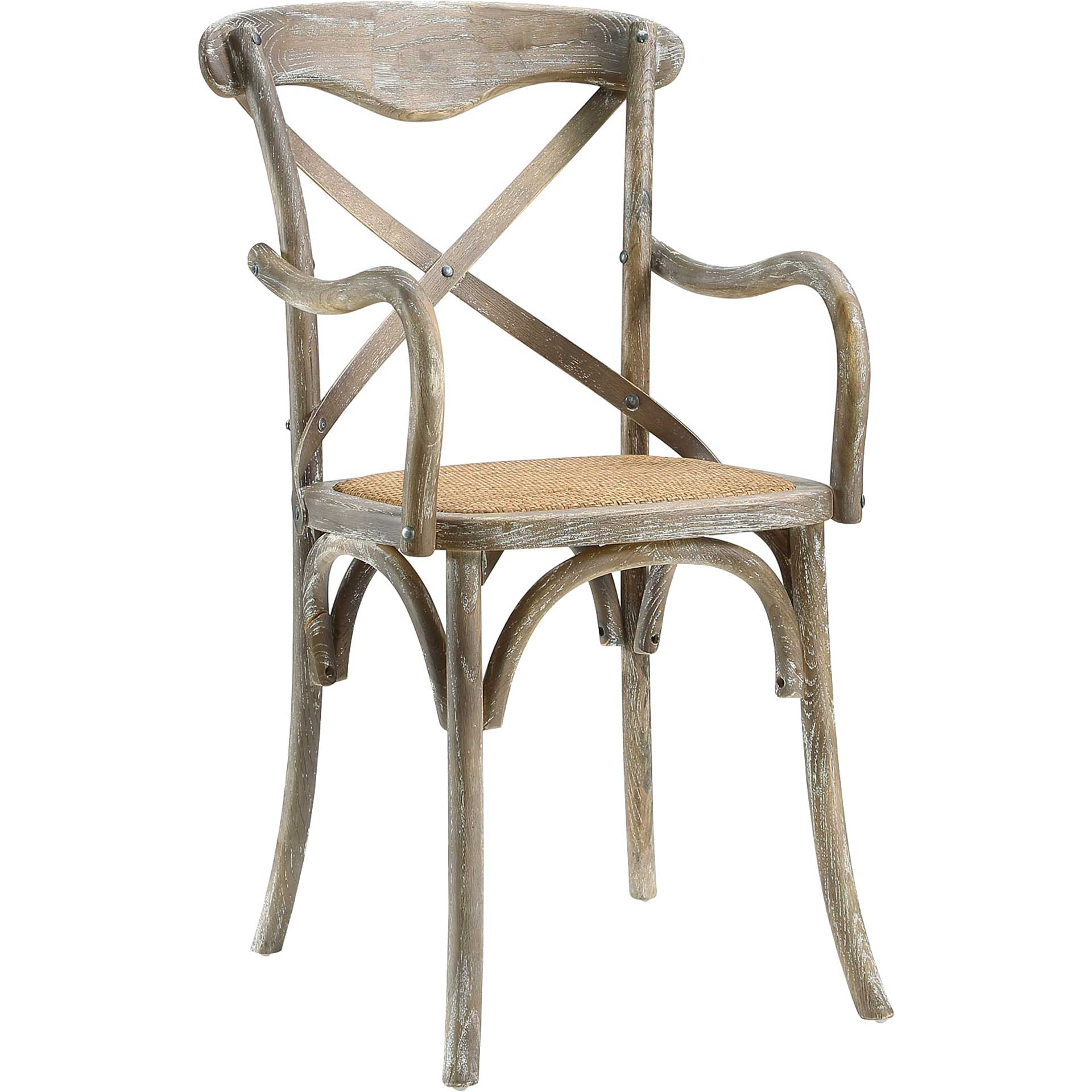 Gentry Dining Armchair Gray