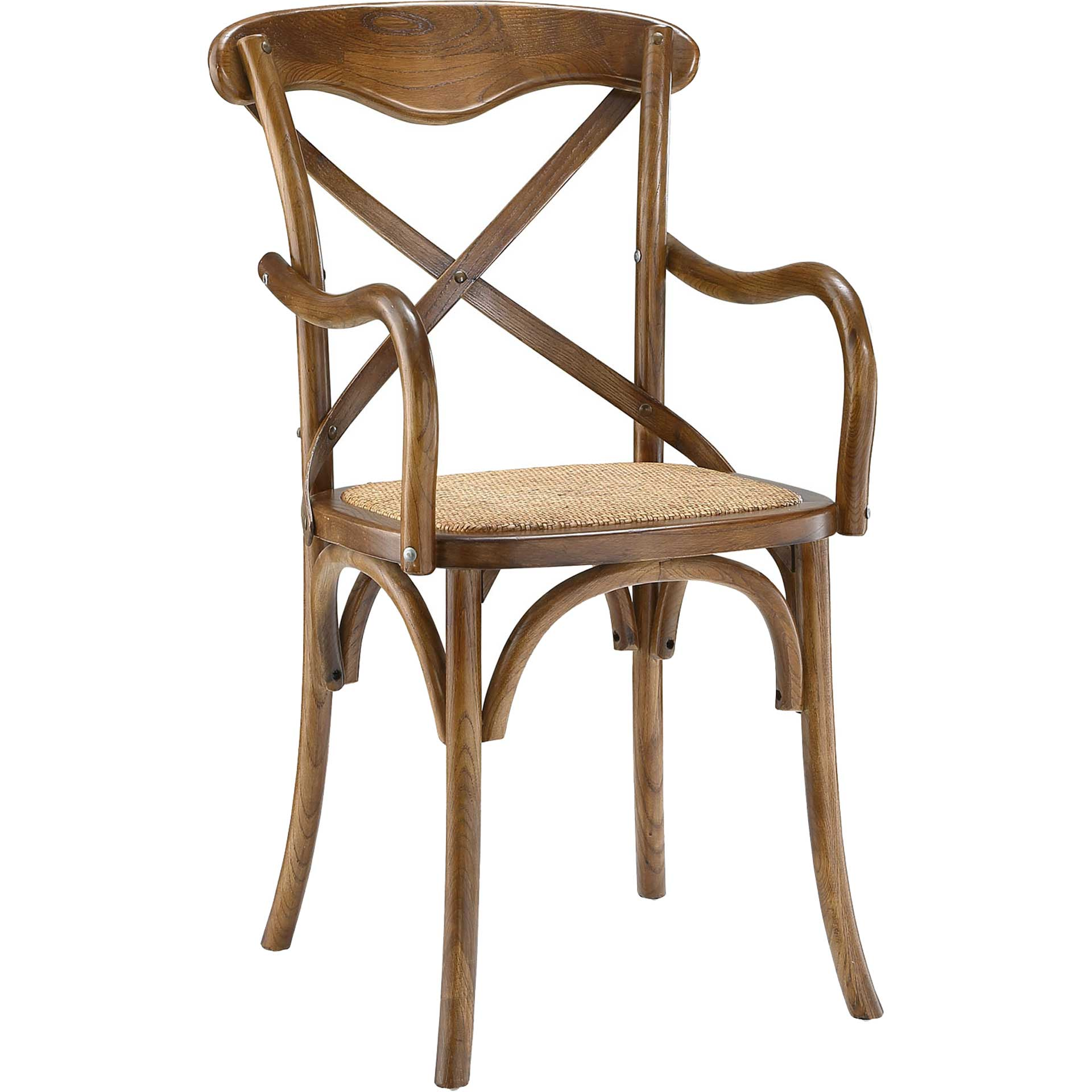 Gentry Dining Armchair Walnut