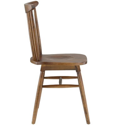 Arise Dining Side Chair Walnut