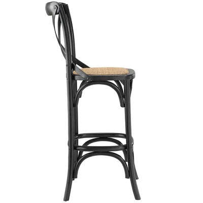 Gentry Bar Stool Black