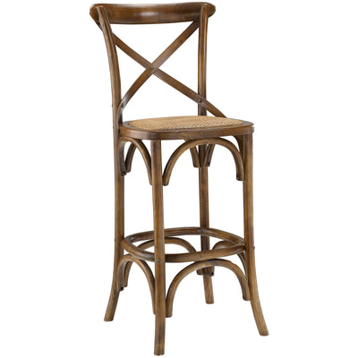 Gentry Bar Stool Walnut
