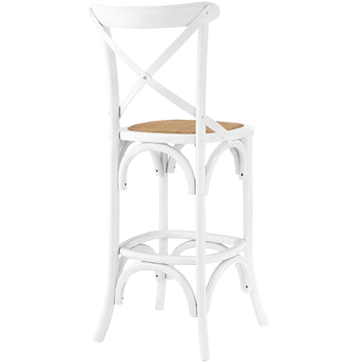 Gentry Bar Stool White