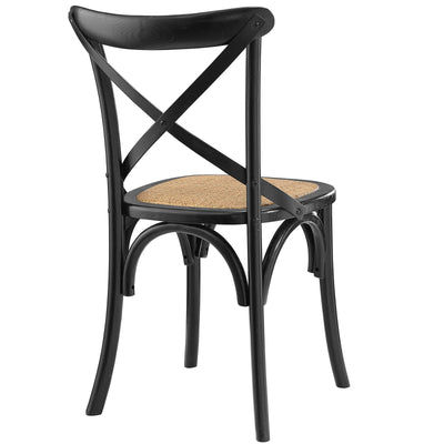 Gentry Dining Side Chair Black