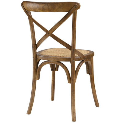 Gentry Dining Side Chair Walnut