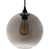 Fill Metal Ceiling Fixture Black