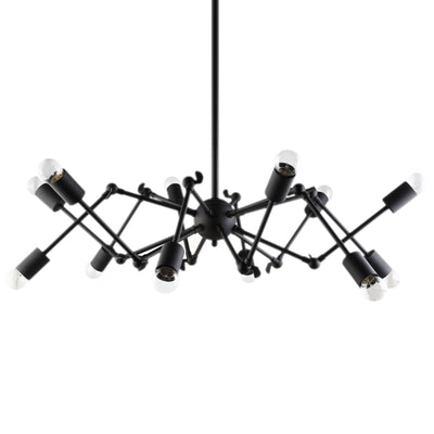 Troy Ceiling Fixture Black